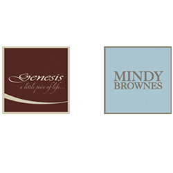 Genesis Fine Arts and Mindy Brownes stocked by Presents Gift Shop Swinford