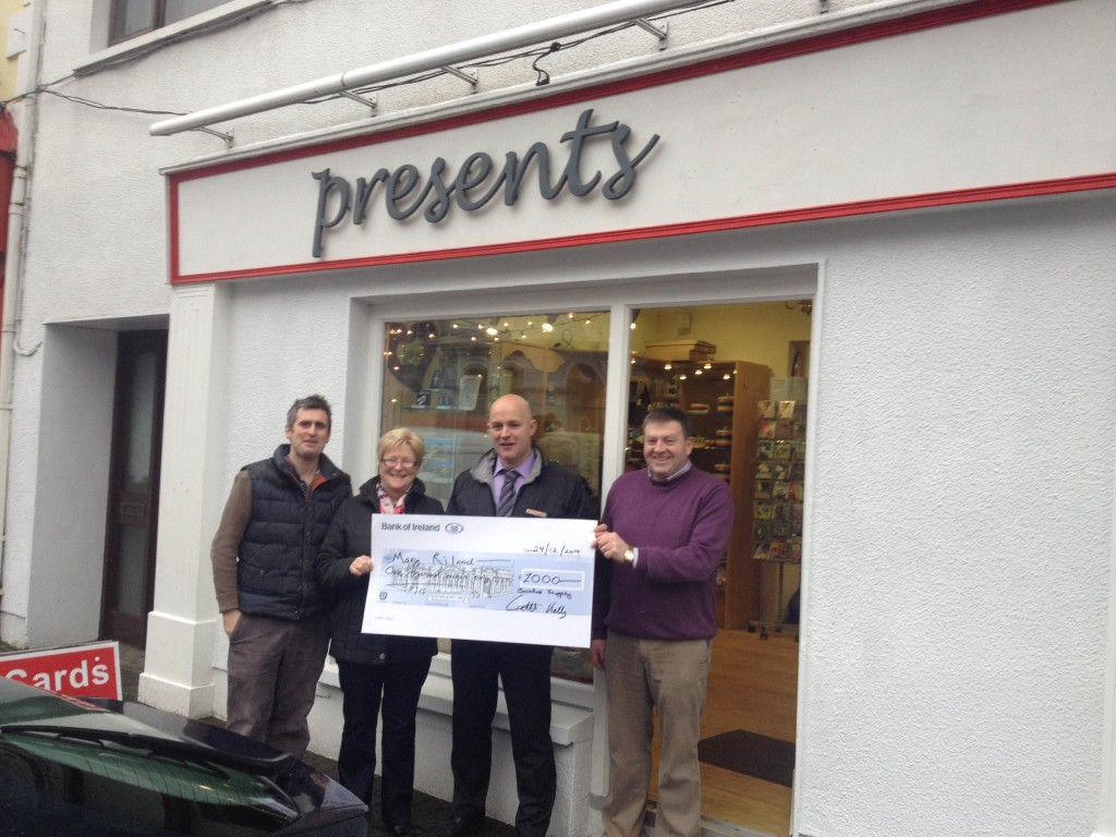 Presents Gift Shop Swinford Winner of Christmas Festival