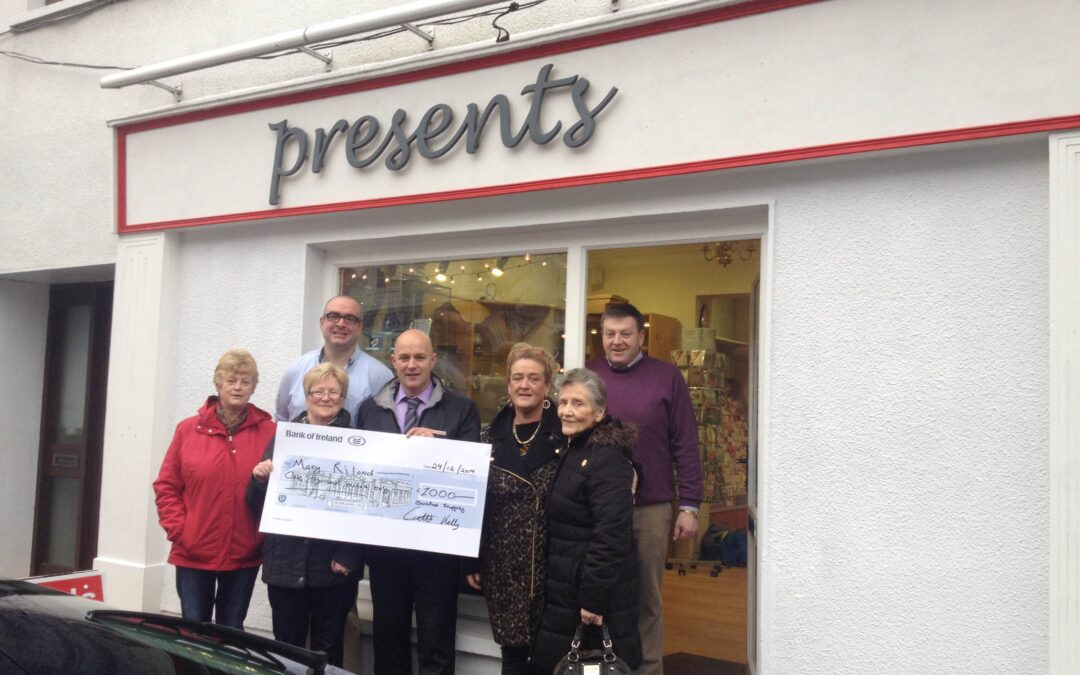 Two Winners From Presents Giftshop in Swinford